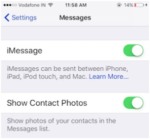 """iMessage """"Waiting for activation"""" error"""