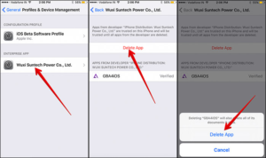 How to Download and install GBA4iOS on iOS 10 without Jailbreak