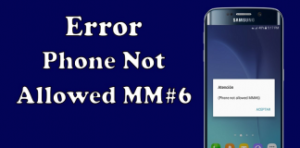 Phone Not Allowed MM#6