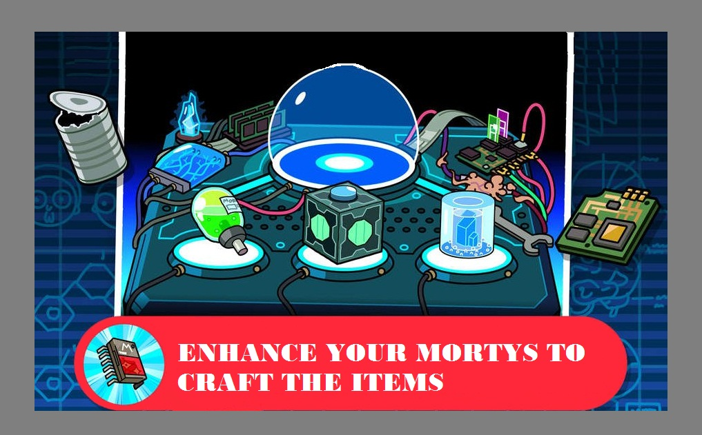 Create Your Pocket Morty Recipes
