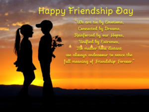 Happy Friendship Day DP