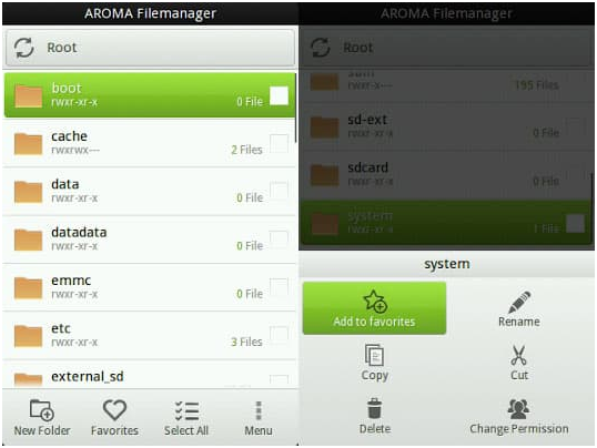 AROMA File Manager Download (Recovery File Manager)