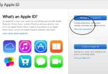 Iforget.apple.com